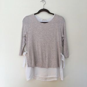 Pebble and Stone layered top